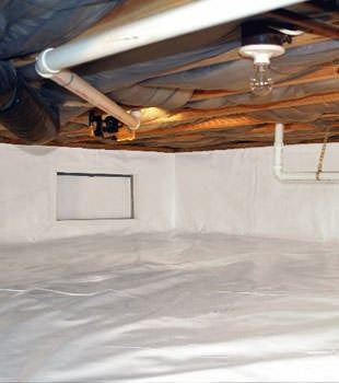 crawl space repair system in Mount Pleasant