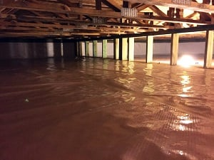 Crawl space encapsulation & repair system